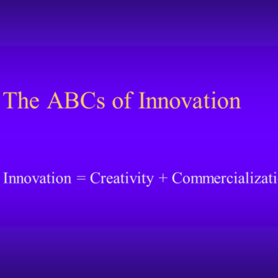 The ABCs of Innovation